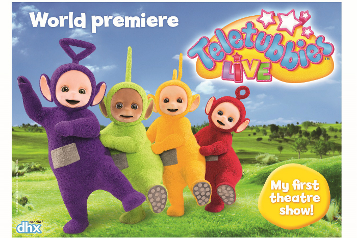 Teletubbies Live will have its world premiere at Manchester Palace Theatre