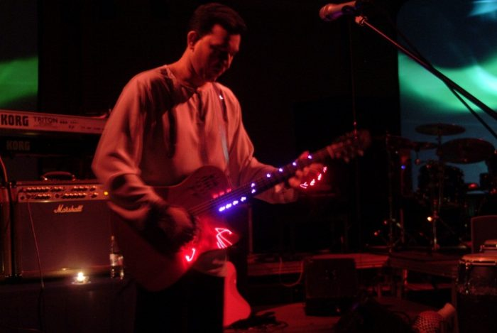 Aziz Ibrahim performs at Home Manchester - image credit Richard Battye