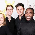 Shrek The Musical at Manchester's Palace Theatre stars Laura Main, Steffan Harri, Samuel Holmes and Marcus Ayton