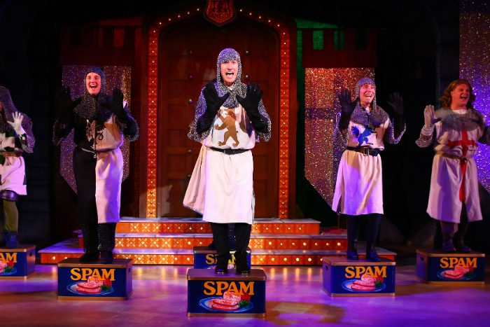 Spamalot comes to the Palace Theatre Manchester