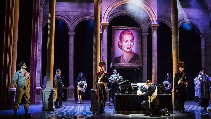 Evita comes to the Palace Theatre Manchester - image courtesy Pamela Raith Photography