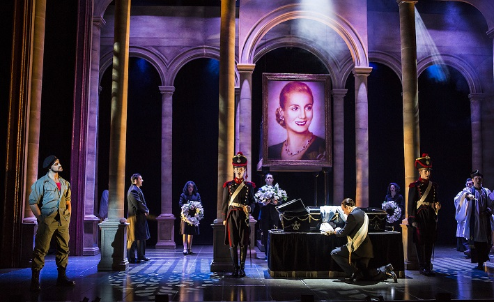 Previewed: Evita at Manchester's Palace Theatre