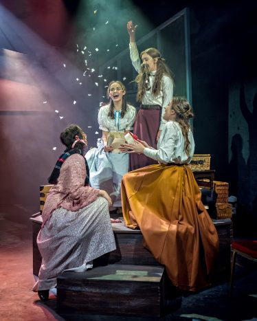 Little Women has extended its Manchester Hope Mill Theatre run - image courtesy Anthony Robling