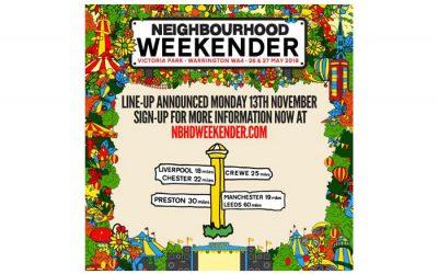 Neighbourhood launch weekend festival in Warrington