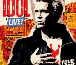 Billy Idol will open his 2018 European tour at the O2 Apollo Manchester