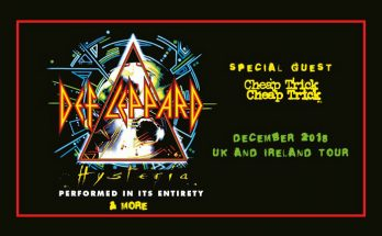 Def Leppard have announced a UK tour including a Manchester gig at Manchester Arena