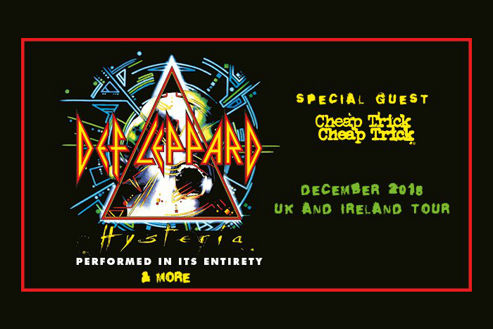 c9688f7dc40 Def Leppard have announced a UK tour including a Manchester gig at  Manchester Arena