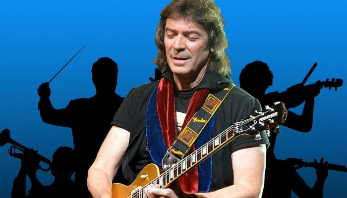 Steve Hackett performs at the Bridgewater Hall Manchester