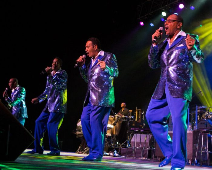The Four Tops will perform at Manchester Arena - image courtesy Mick Burgess