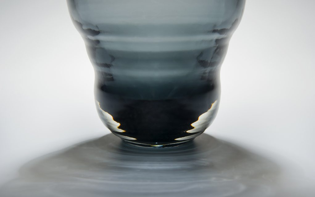 Blown Air Captured in Glass at Manchester Craft and Design Centre