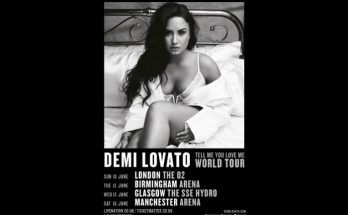 Demi Lovato will headline a Manchester gig at Manchester Arena