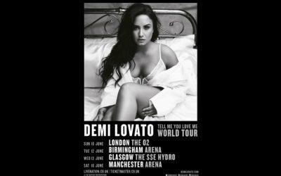 Demi Lovato announces Manchester Arena gig