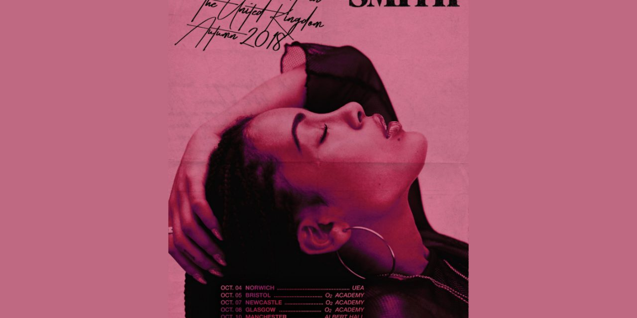 Jorja Smith announces Manchester Albert Hall gig
