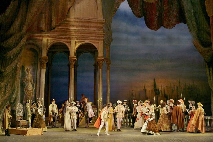 Rigoletto is performed at Manchester Opera House