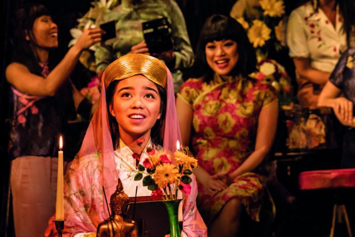 MISS SAIGON comes to Manchester Palace Theatre - Joreen Bautista 'Kim' - image courtesy Johan Persson