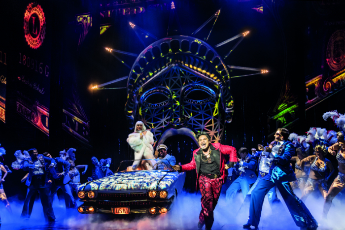 MISS SAIGON comes to Manchester Palace Theatre - Red Concepcion 'The Engineer' and company - image courtesy Johan Persson