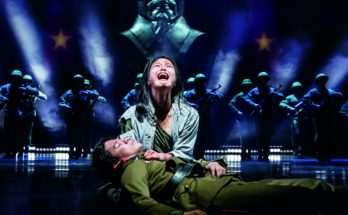 MISS SAIGON comes to Manchester Palace Theatre - Sooha Kim 'Kim' and Gerald Santos 'Thuy' - image courtesy Johan Persson