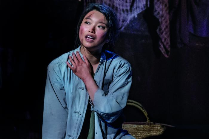 MISS SAIGON comes to Manchester Palace Theatre - Sooha Kim 'Kim' - image courtesy Johan Persson