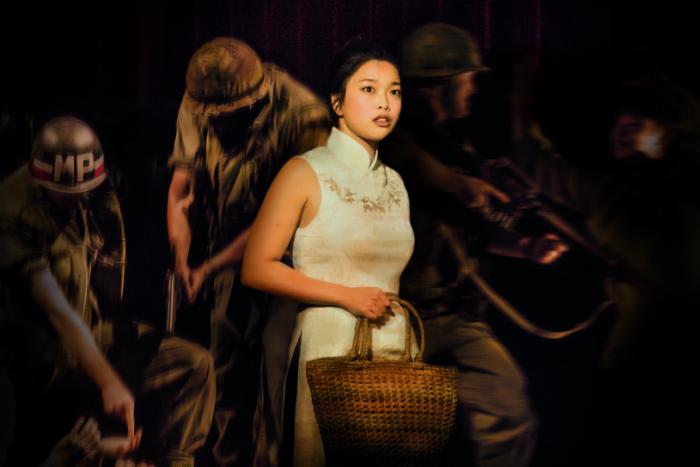 Sooha Kim 'Kim' stars in Miss Saigon at The Palace Theatre Manchester - image courtesy Johan Persson