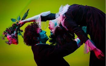 The Flying Lovers of Vitebsk is performed at Home Manchester - image courtesy Steve Tanner