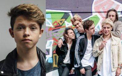 Jacob Sartorious and :PM announced as support for The Vamps at Manchester Arena
