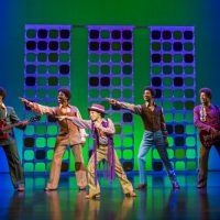 The Jackson Five in Motown The Musical - image courtesy Tristram Kenton