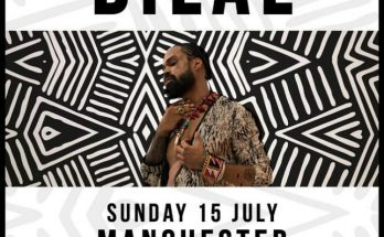 Bilal will perform his debut Manchester headline show at Matt and Phreds