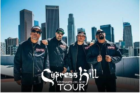 Cypress Hill will headline at Manchester Academy