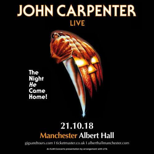 James Carpenter Live announced for Manchester's Albert Hall