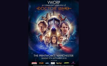 Vworp - Doctor Who convention at The Printworks Manchester