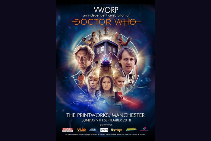 Stars of Doctor Who coming to The Printworks