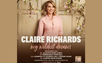 claire richards has announced a UK tour