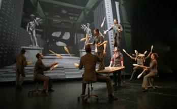 Cirque Eloize brings Cirkopolis to Manchester Opera House - image courtesy Patrick Lazic