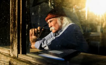David Crosby - image courtesy Anna Webber