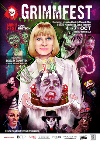 Grimmfest 2018 runs at Manchester's Odeon in the Great Northern from 4-7 October