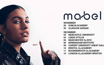 LISTEN: Mabel announces new single ahead of Manchester O2 Ritz gig
