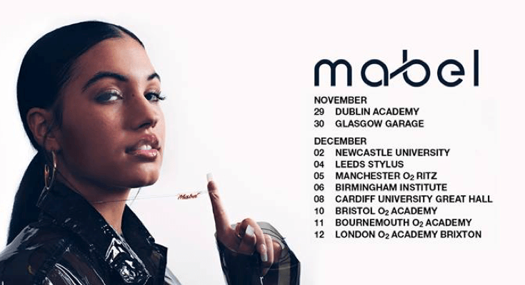 Mabel will headline at Manchester O2 Ritz