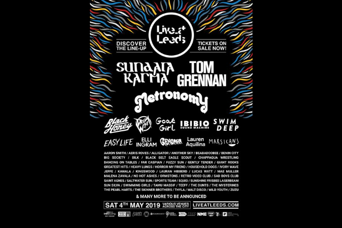Further afield: Live at Leeds announce first names for 2019 line up