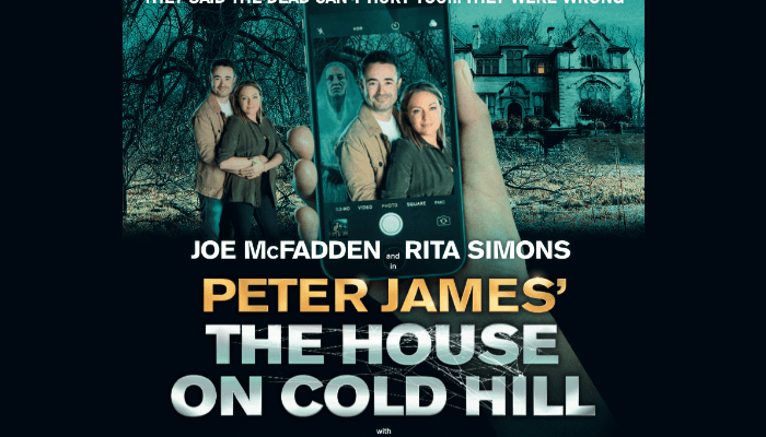 Manchester theatre - The House on Cold Hill at Manchester Opera House poster