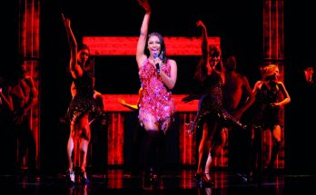 Alexandra Burke in The Bodyguard image courtesy Paul Coltas