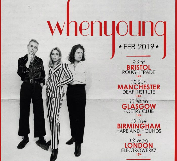 Whenyoung announce Manchester Deaf Institute gig