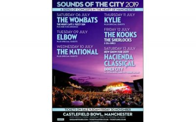 Sounds of the City returning in 2019 with huge lineup