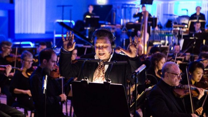Craig Charles and the BBC Philharmonic Orchestra perform at The Lowry
