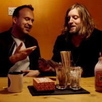 Manchester gigs - Andy Burrows and Matt Haig - image courtesy Andy Willsher