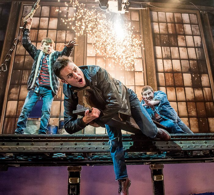 Previewed: The Full Monty at Manchester Opera House