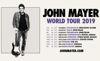 John Mayer will headline Manchester Arena