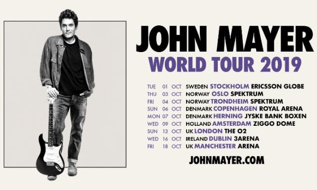 Manchester Arena – John Mayer announces headline date