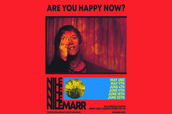 Nile Marr announces six date Night and Day residency
