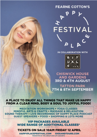 Fearne Cottons Happy Place Festival