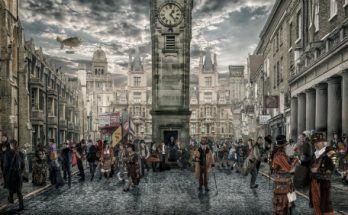 Gary Nicholls steampunk photography - The Town